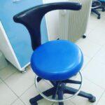 синие медицинское кресло