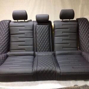перетяжка кожаных сидений авто