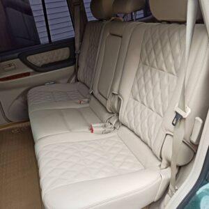 перетяжка заднего ряда сидений авто