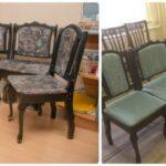 замена обивки стульев