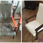реставрация обивки старого стула