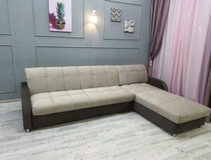 замена обивки углового дивана